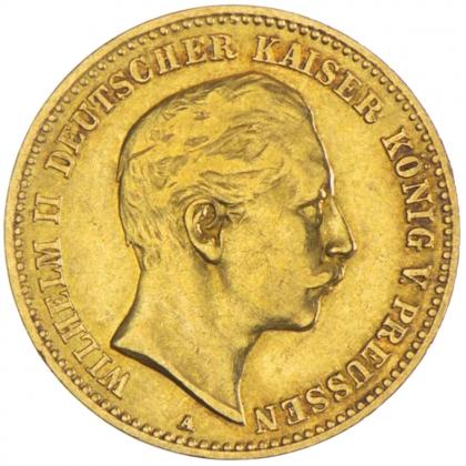 Deutsches Kaiserreich 10 Mark Gold