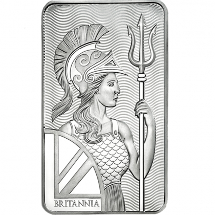 Britannia - 10 oz Silver Minted Bar