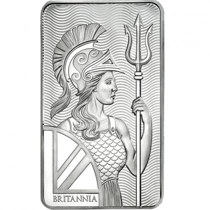 Silberbarren Britannia 10 oz
