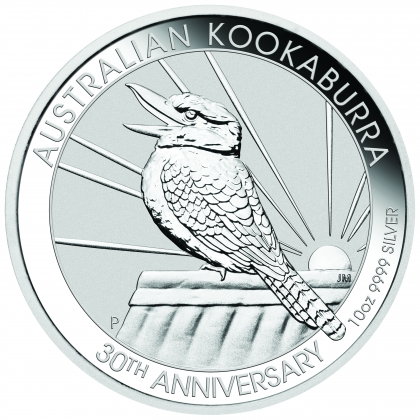 Kookaburra 10 oz Silber 2020