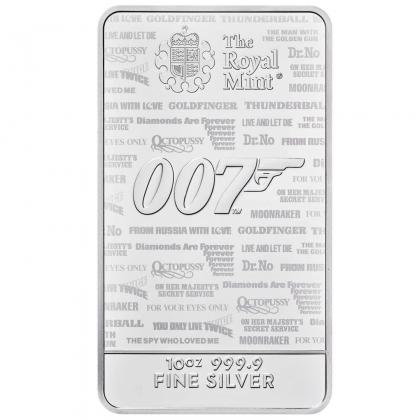 Silberbarren James Bond 10 oz