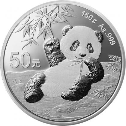 Panda 150 g Silber Proof 2020