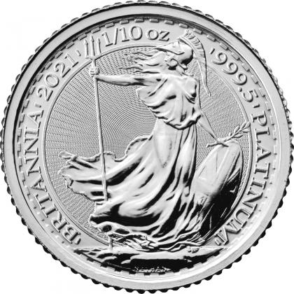 Britannia 1/10 oz Platin 2021