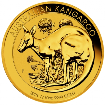 Kangaroo 1/10 oz Gold 2021