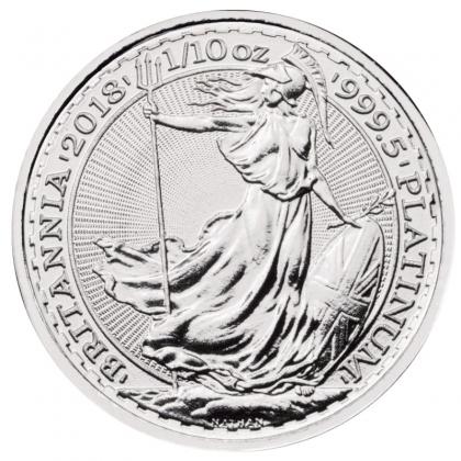 Britannia 1/10 oz Platin 2018