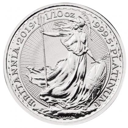 Britannia 1/10 oz Platin 2019