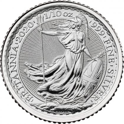 Britannia 1/10 oz Silber 2020