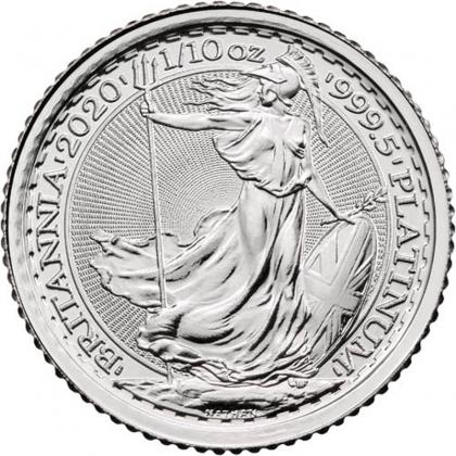 Britannia 1/10 oz Platinum 2019