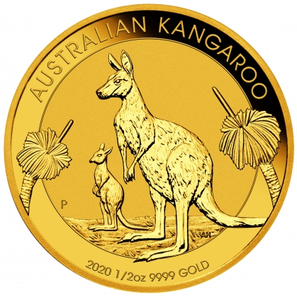 Kangaroo 1/2 oz Gold 2020