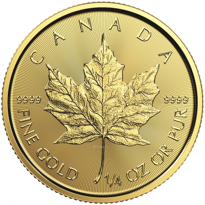 Maple Leaf 1/4 oz Gold - divers