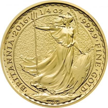 Britannia 1/4 oz Gold - divers