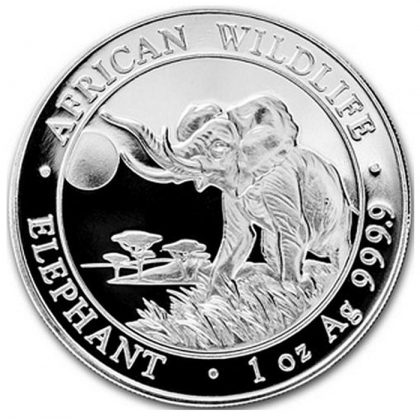 Somalia Elefant 1 oz Silber 2016