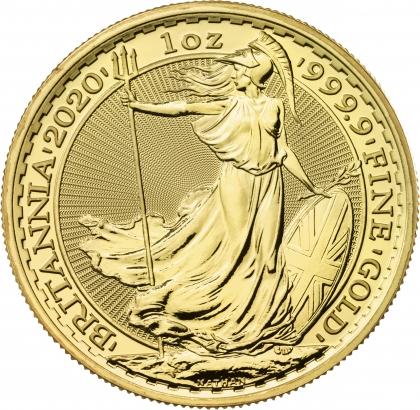 Britannia 1 oz Gold 2020