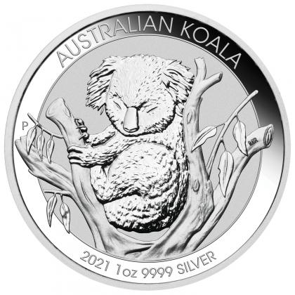 Koala 1 oz Silber 2021