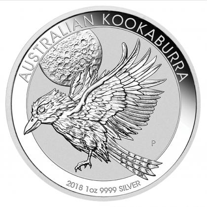Kookaburra 1 oz Silber 2018