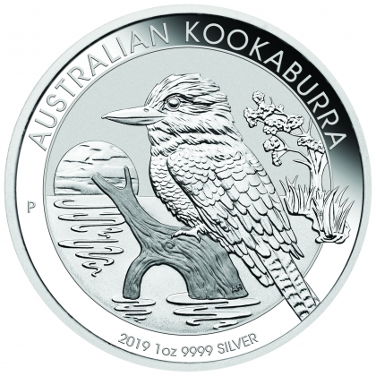 Kookaburra 1 oz Silber 2019