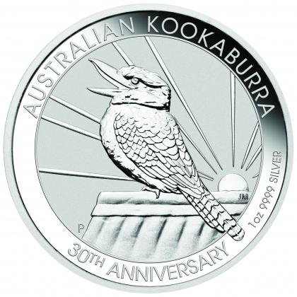 Kookaburra 1 oz Silber 2020