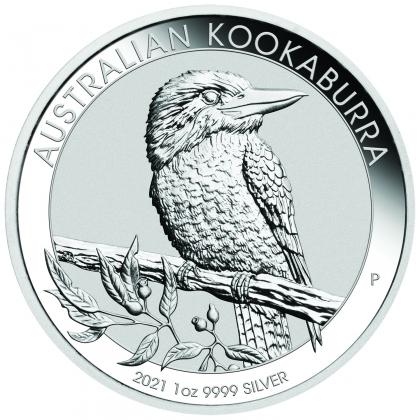 Kookaburra 1 oz Silver 2021
