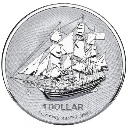 Cook Islands 1 oz Silber 2020