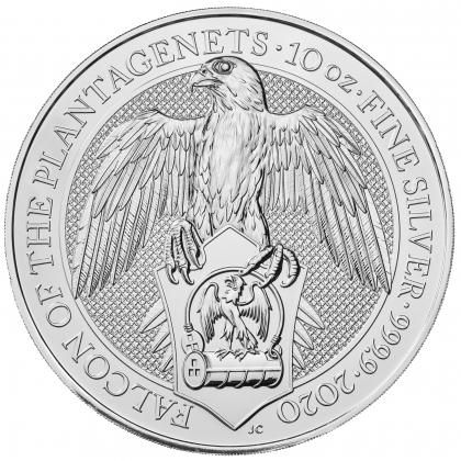 Queen's Beasts Falcon 10 oz Silber 2020