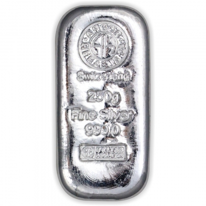 Silberbarren 250 g Argor-Heraeus