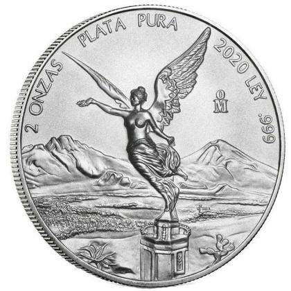 Libertad 2 oz Silber 2021