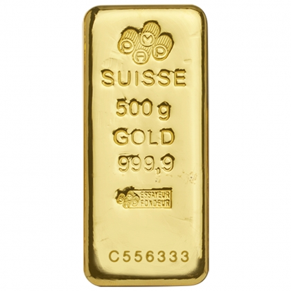 Goldbarren PAMP Suisse 500 Gramm