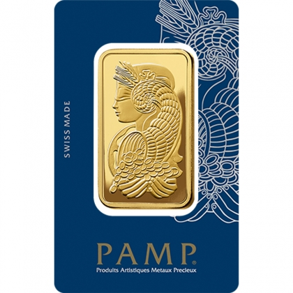 Goldbarren 50 Gramm PAMP Suisse