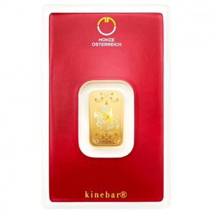 Goldbarren kinebar™ 5 Gramm Münze Österreich