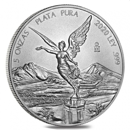 Libertad 5 oz Silber 2020