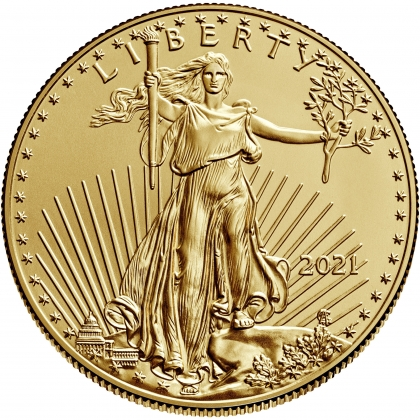 American Eagle 1/4 oz Gold 2021