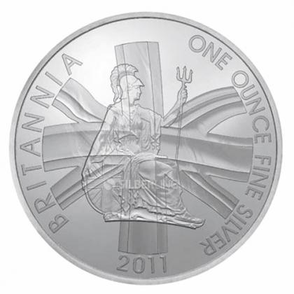 Britannia 1 oz Silver 2011