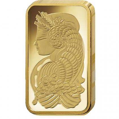 Goldbarren 5 Gramm PAMP Suisse