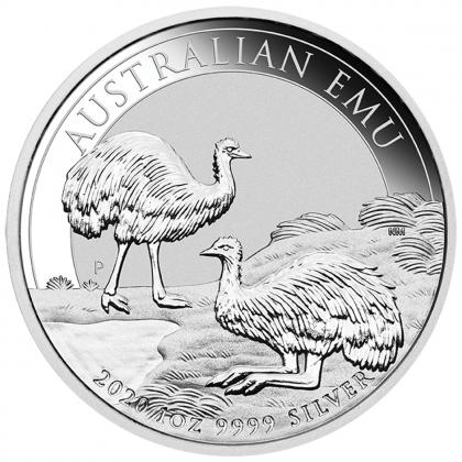 Emu 1 oz Silber 2020