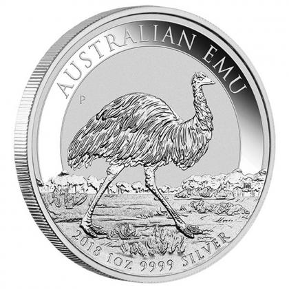 Emu 1 oz Silber 2018