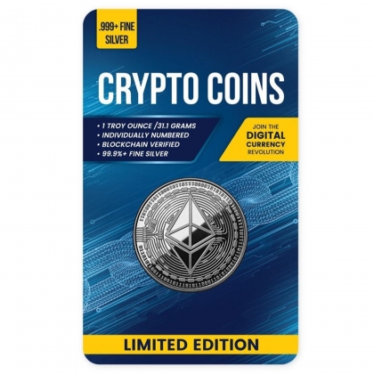 Ethereum 1 oz Silver Proof Like Coin