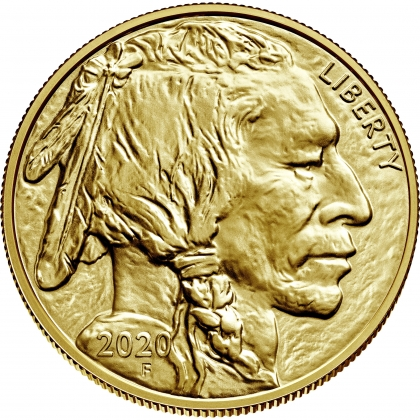 American Buffalo 1 oz Gold 2020