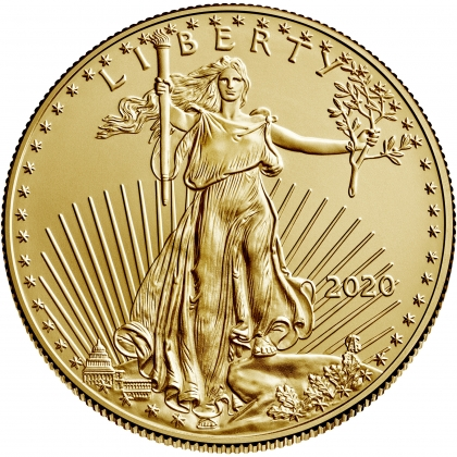 American Eagle 1/4 oz Gold 2020