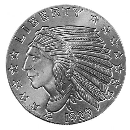 Indian Head 2 oz Silber