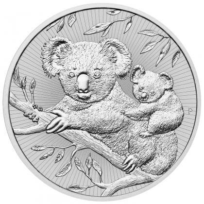 Koala 2 oz Silber 2018