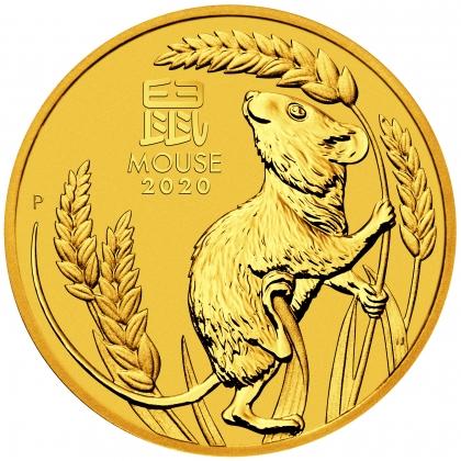 Lunar Maus 10 oz Gold 2020