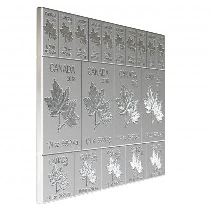 10 x Mapleflex™  2 oz Silber Anlagepaket
