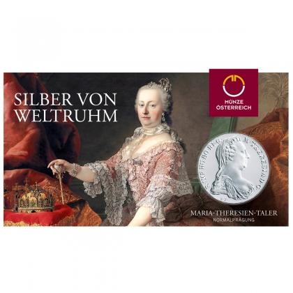 Maria Theresien Taler Blister