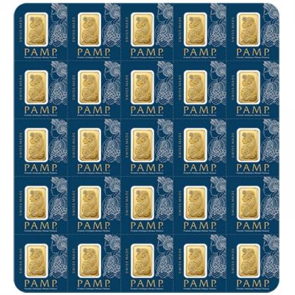 Multigram+25 Gold Bar PAMP Suisse