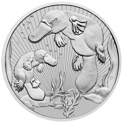 Platypus 2 oz Silber 2021