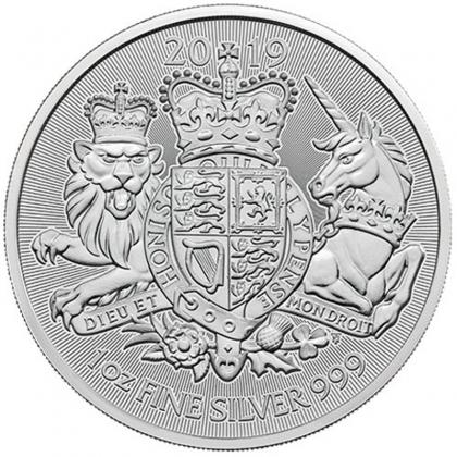Royal Arms 1 oz Silber 2019
