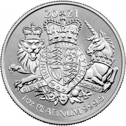 Royal Arms 1 oz Platin 2021