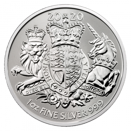 Royal Arms 1 oz Silber 2020