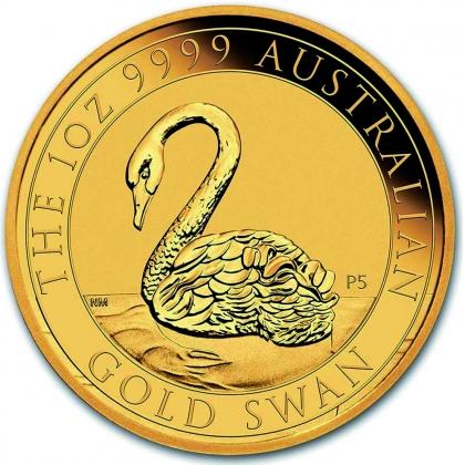 Schwan 1 oz Gold 2021