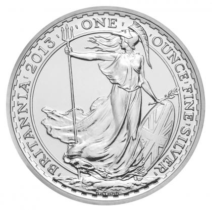 Britannia 1 oz Silber 2013
